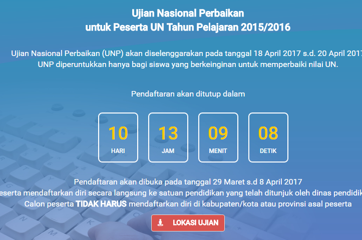 unp peserta un 2015 2016